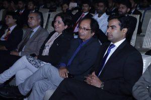 Participants of International Adabi Conference enjoying the magic words of Anwar Masood